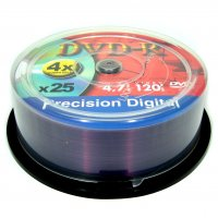 Precision Digital DVD-R (4x) 25pcs