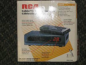 RCA Cable/ TV Converter Box--85 Channels