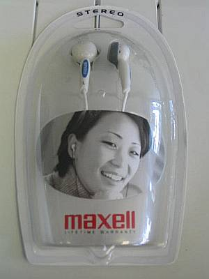 Maxell Hi-Fi Digital Ear bud