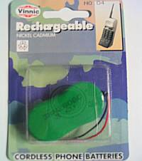 Rechargeable Cordless Phone Battery