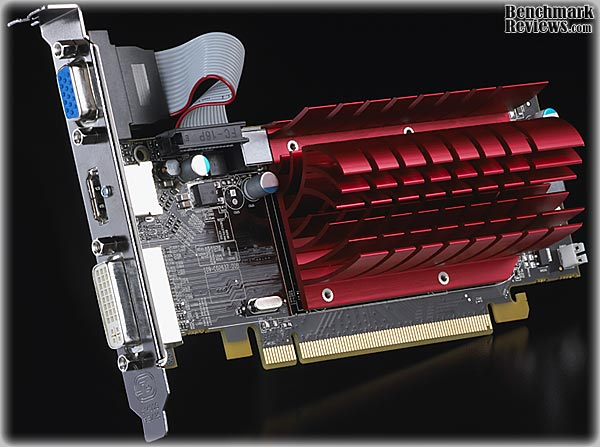 HIS ATI HD 5450 VIDEO CARD