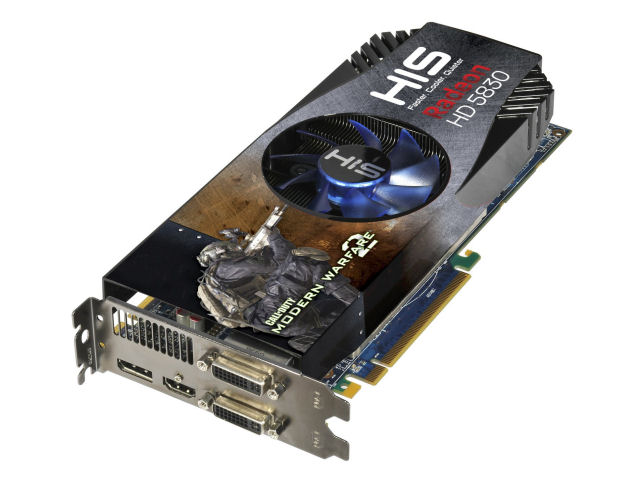 HIS ATI HD 5830 VIDEO CARD