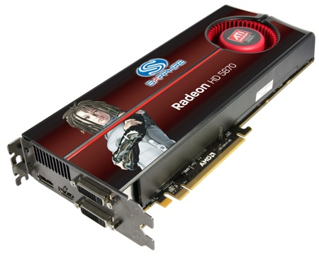 HIS ATI HD 5870 VIDEO CARD
