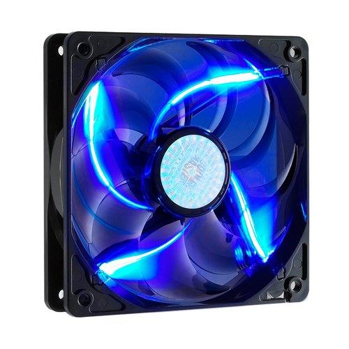 COOLER MASTER 80mm Blue LED Silent Case Fan