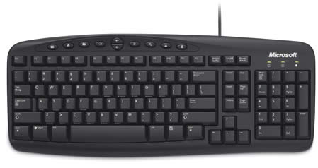 Microsoft Wired Keyboard