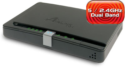 "AIRLINK DUAL BAND ""N"" WIRELESS ROUTER"