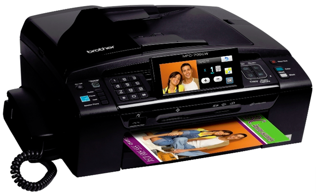 BROTHER MULTIFUNCTION MFC795CW INKJET PRINTER